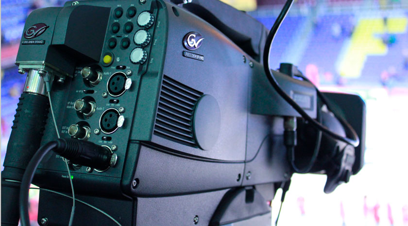 Movistar+ chooses Grass Valley cameras for their remote production of the Liga Endesa