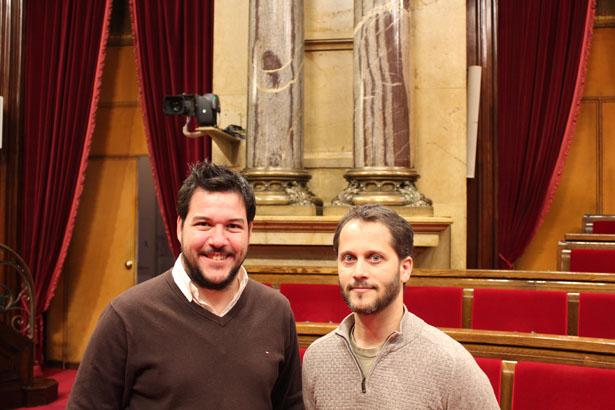 Daniel Rodríguez y Rafael Ramón