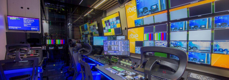 RTVE estrena cuatro nuevas unidades móviles de alta definición